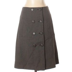 [a30-2] The Limited | elegant button up skirt